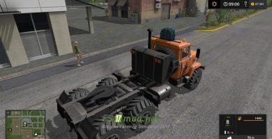 Мод КРАЗ-63221 для игры Фермер Симулятор 2017