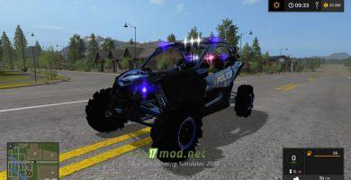 Can-Am Maverick X3 Police сирена