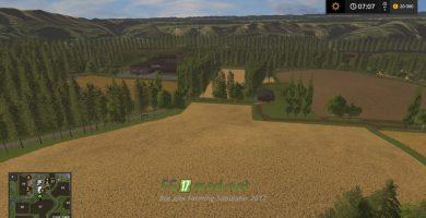 Карта Hot online farm 2K17 Buyable objects для игры Фермер Симулятор 2017