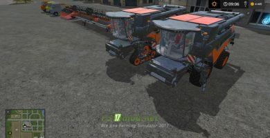 Комбайн Newholland CR10.90 Limitededition для игры Симулятор Фермера 2017