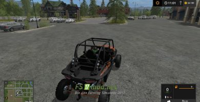 Мод на Polaris RZR XP 4 1000 Turbo EPS для игры FS 2017