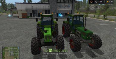 Мод Deutz D8006 для игры Симулятор Фермера 2017