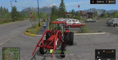 Мод на Lindner BF450 SA для Farming Simulator 2017.
