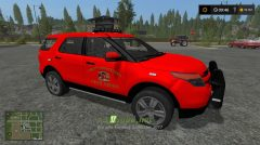 Мод на Fire Trucks IDK для игры Фермер Симулятор 2017