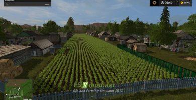 Карта Сибирь Агро для игры Фермер Симулятор 2017