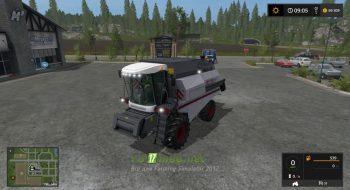 Комбайн Вектор 410 для игры Симулятор Фермера 2017