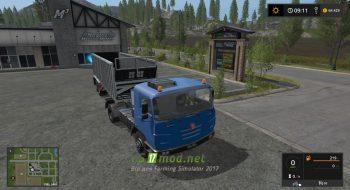 Тягач Tatra Termo Truck для Farming Simulator 2017