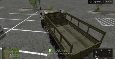 Мод УРАЛ-4320 «Бортовой» для игры Симулятор Фермера 2017