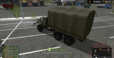 Мод УРАЛ-4320 «Бортовой»