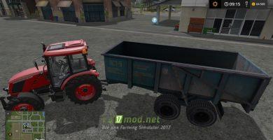 PST9 с трактором