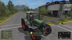 Мод на трактор Fendt Vario 716 TMS для игры Симулятор Фермера 2017