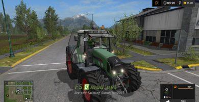 Мод на трактор Fendt Vario 716 TMS