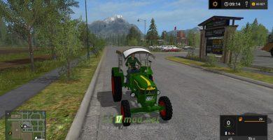 Трактор Deutz D40 Allrad для Симулятора Фермера 2017