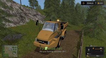 Мод для Caterpillar 725 для игры Farming Simulator 2017