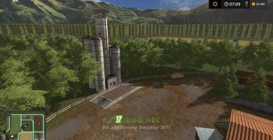 Карта Flatlands 2018 для игры Симулятор Фермера 2017