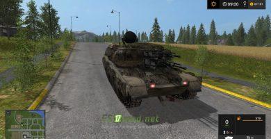 Танк ЗСУ-24-3 Шилка для Farming Simulator 2017