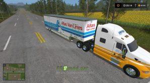 Мод на United Semi Truck & Trailer