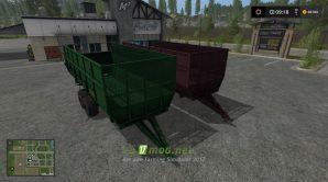 Прицеп ПС-45 для Farming Simulator 2017