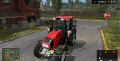 Мод на трактор МТЗ 1523