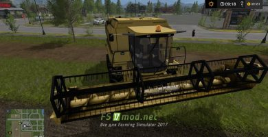 Мод New Holland TF78 для игры Farming Simulator 2017