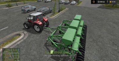 Сеялка с трактором