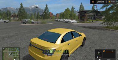 Мод на автомобиль Chevrolet Cruze для игры Фарминг Симулятор 2017
