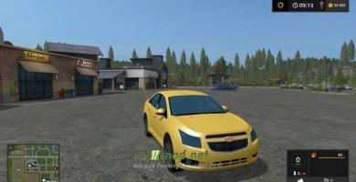 Мод на автомобиль Chevrolet Cruze