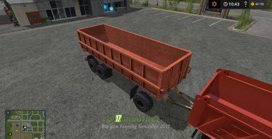 Прицеп PST-17 с грузовиком
