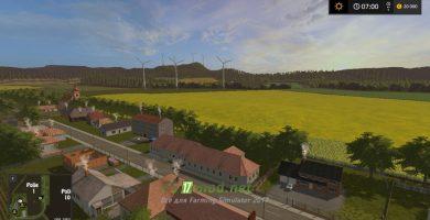 Красивые пейзажи и ветрогенераторы