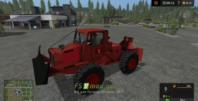 Мод на Tigercat Skidder для игры в Farming Simulator 2017