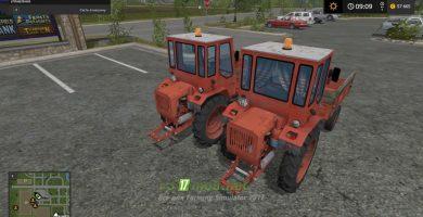 Мод на трактор Т-16М Шассик