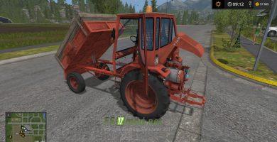 Мод на трактор Т-16М Шассик для игры Симулятор фермера 2017