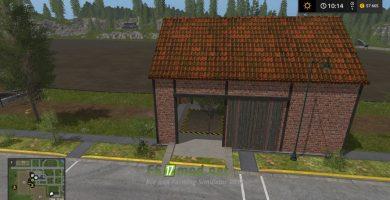 Мод на пак производственных зданий для игры Farming Simulator 2017