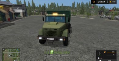 Мод на КРАЗ-6510 для Farming Simulator 2017