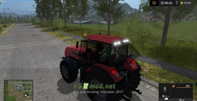 Мод на Беларус-3022ДЦ для Farming Simulator 2017