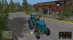 Мод трактор Т-40АМ для игры Фарминг Симулятор 2017