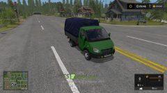 Мод на грузовик ГАЗ-3302 для Farming Simulator 2017