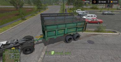 Мод на «МТУ-18» для игры Симулятор Фермера 2017