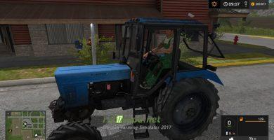 Мод на МТЗ-82.1 для игры Farming Simulator 2017