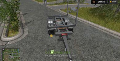Прицеп Biobeltz tandem timber trailer TLT 500