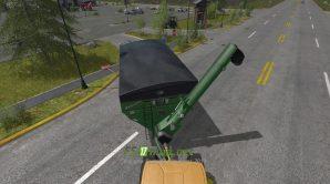Прицеп Brent avalanche 1594 для игры Фермер Симулятор 2017