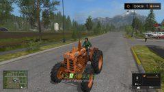 Трактор OM 50 R для Farming Simulator 2017.