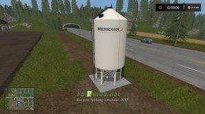 Мод на Placeable meridian seed tank для игры Симулятор Фермера 2017