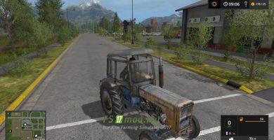 Мод на трактор Ursus C360 для игры FS 2017