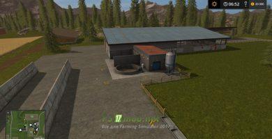 Карта Dorf godshorn для игры Фермер Симулятор 2017