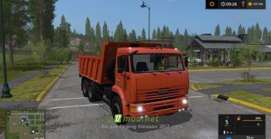 Мод на КАМАЗ-6520-029