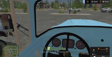 ЗИЛ 133 вид с кабины