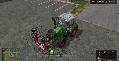 Мод Fanex 604 Front Attacher Version + Colorchoice для игры Фермер Симулятор 2017