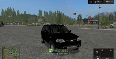 Автомобиль Нива Chevrolet для игры Фермер Симулятор 2017