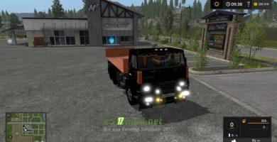 Мод на КАМАЗ-5320 для игры Фарминг Симулятор 2017